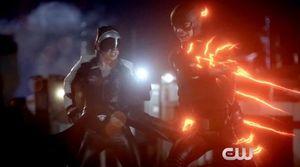 Dr. Light vs. The Flash