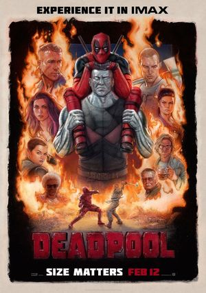 Deadpool Official IMAX Poster