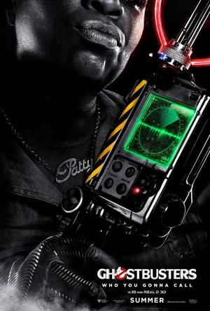 Ghostbuster Poster - Patty Tolan (Leslie Jones)