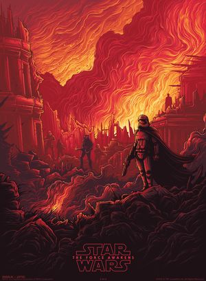 Captain Phasma gets a gorgeous IMAX poster to celebrate The