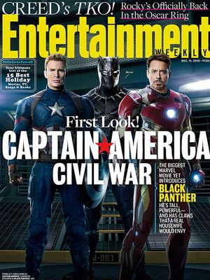 Captain America, Black Panther and Iron Man featured on the