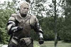 Brienne of Tarth, played by Gwendoline Christie