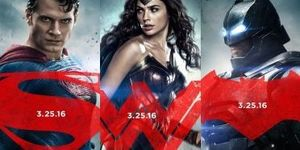 Batman v Superman: Dawn of Justice Character Posters