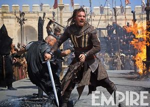 Michael Fassbender in action for Assassin's Creed brings bac