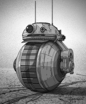 One of a handful of potential looks for BB-8