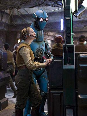 Billie Lourd in Star Wars: The Force Awaken