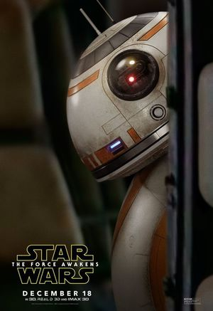 Because we all need more BB-8 in our Lives: New Poster for t