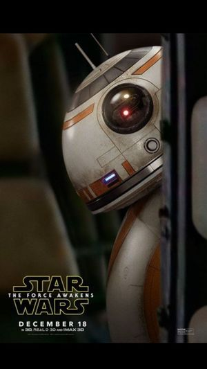 New BB-8 character poster for Star Wars: The Force Awakens
