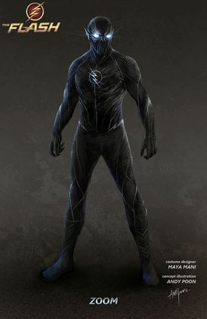 CW's The Flash: Check out this Frightening Concept Art for Z