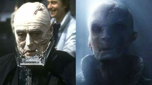 Supreme Leader Snoke and Darth Vader share similarities thus