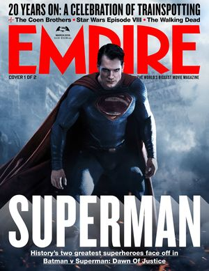 New Empire Magazine Cover Features the Man of Steel