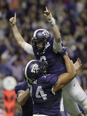 Disney Pursuing A Film About TCU's Heroic Backup Quarterback