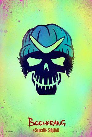 Captain Boomerang character poster