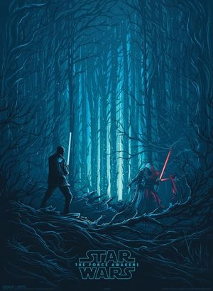 The final IMAX Poster for The Force Awakens Features Finn an