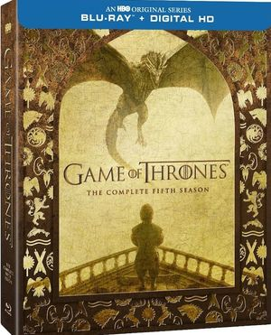 Game of Thrones Season 5 Home Release Art Revealed, Out Marc
