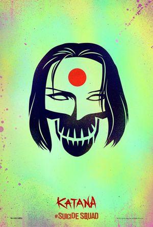 Katana character poster