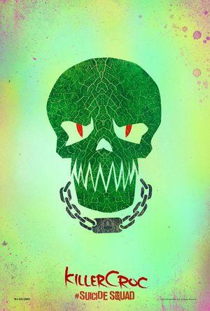 Killer Croc character poster