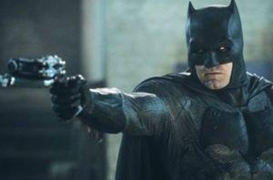 Ben Affleck as Batman in new image