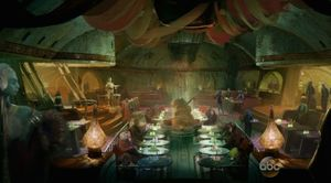 Restaurant in Star Wars Land