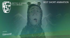 Best Short Animation goes to 'Edmond' #EEBAFTAS