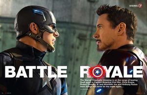 Captain America: Civil War - Empire magazine inside look