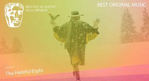 Best Original Music goes to 'The Hateful Eight.' Ennio Morri