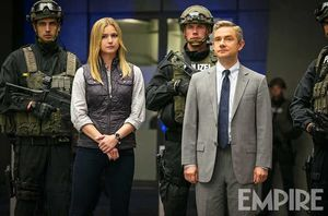 Martin Freeman as Everett Ross in Captain America: Civil War