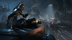 Cancelled concept art from Star Wars: 1313