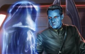 Grand Admiral Thrawn, a now defunct legend character in the