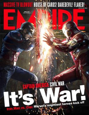Captain America: Civil War - Empire magazine cover