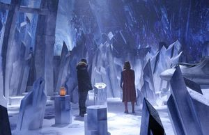First Look at Superman's Fortress of Solitude on 'Supergirl'