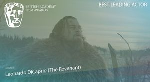 Was there ever any doubt! Leonardo DiCaprio wins Best Leadin