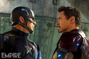 Captain America and Iron Man in new image