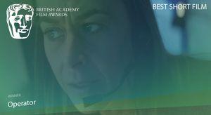 Best Short Film is awarded to 'Operator' #EEBAFTAS