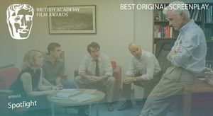 First win of the night for 'Spotlight' as it picks up Best O