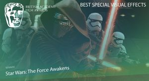 'Star Wars: The Force Awakens' wins Best Special Visual Effe