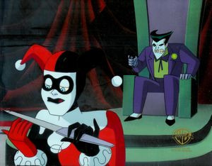Joker and Harley in Batman: The Animated Series