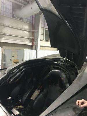 Batmobile Interior Close-Up