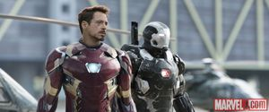 Captain America: Civil War photos - Ironman & War Machine