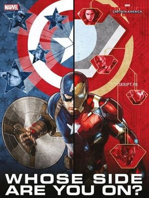 Captain America Promo Poster - Whose Side Are You On