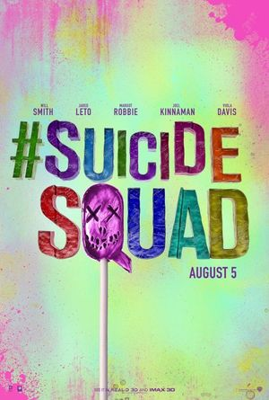 Colourful new poster for David Ayer's Suicide Squad