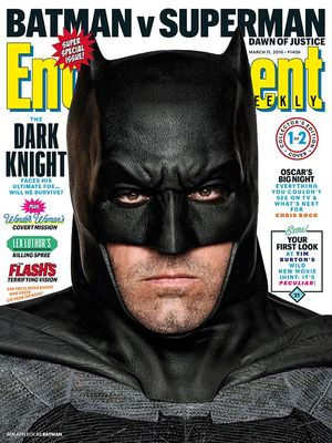 Batman v Superman: Dawn of Justice Entertainment Weekly cove