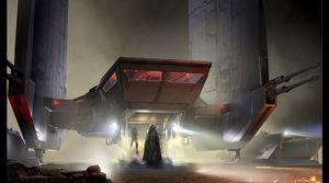 Star Wars pre-production art