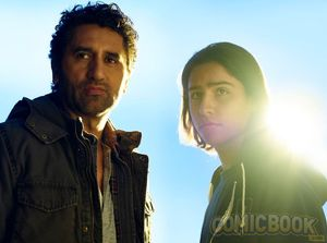 Character Portrait - Cliff Curtis and Lorenzo James Henrie a