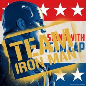 Captain America: Civil War - Team Cap/Iron Man