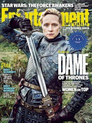 Gwendoline Christie on EW Cover