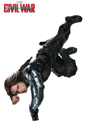 Bucky in new promo for Captain America: Civil War