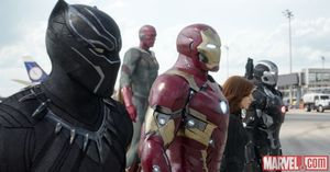Captain America: Civil War photos - Black Panther, Ironman,