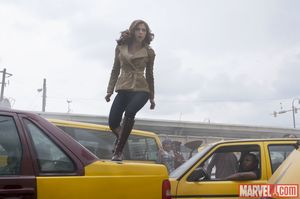Captain America: Civil War photos - Natasha Romanoff aka Bla