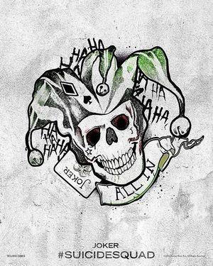 Harley Quinn's Tattoo Parlor Poster - The Joker
